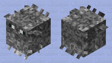 sea mine Pufferfish Minecraft Mob Skin