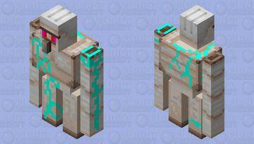 Neon, Zombie Iron Golem Minecraft Mob Skin