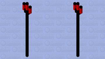 Devil's Claw Trident Minecraft Mob Skin