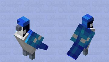 Blue Jay - Mob Skintober 2020 - Day 21 Minecraft Mob Skin