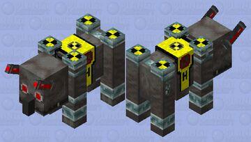 New H.E.P. Guard Minecraft Mob Skin