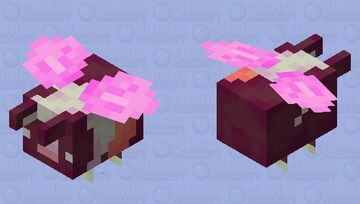 My Sisters Guinea Pig But She's a Bee Minecraft Mob Skin