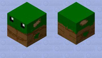 Fat Baby Yoda Minecraft Mob Skin