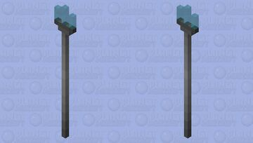 Electrical Trident Minecraft Mob Skin