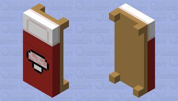 .. mushroom bed .. Minecraft Mob Skin