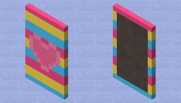 Pride Capes! #5 ~ Pan Pride Minecraft Mob Skin