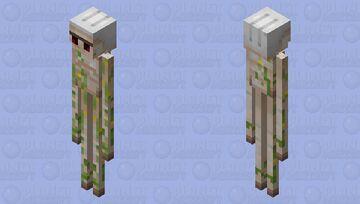 Iron Golem Enderman Minecraft Mob Skin