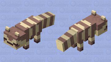 Ditto Furret (sleeping uwu) Minecraft Mob Skin