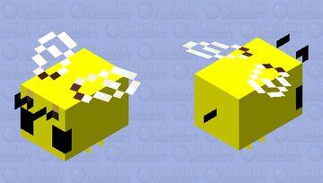 bee pixel Minecraft Mob Skin