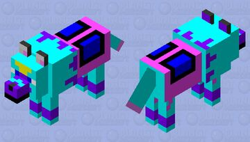 Gem (Mystictalon) Minecraft Mob Skin