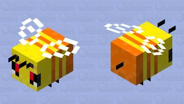 Traffic Bee- Angry Minecraft Mob Skin