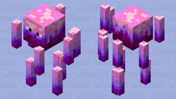 Valentine Blaze Minecraft Mob Skin