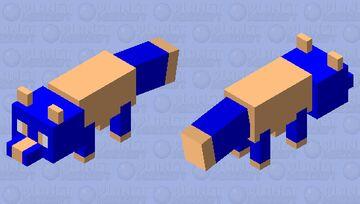 omega fox Minecraft Mob Skin