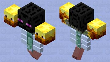 Destructus, the lord of the elemental golems. Minecraft Mob Skin