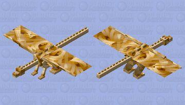 spaghetti dragon Minecraft Mob Skin