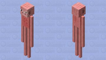Old MacDonald had a farm... but now everyone's gone. Minecraft Mob Skin