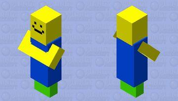 Roblox Noob Minecraft Mob Skin