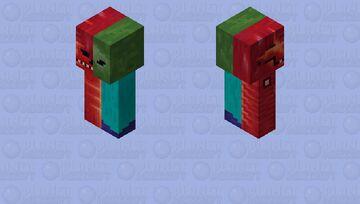 Zombie Anatomy!!    [HD] Minecraft Mob Skin