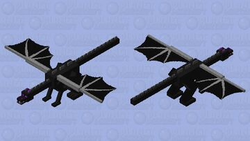 Toothy Dragon V1 (not finished, temp upload) Minecraft Mob Skin