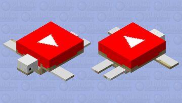 YouTube Turtle Minecraft Mob Skin