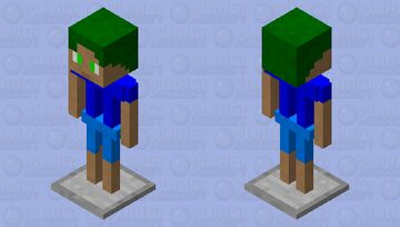 The Armor Stand Boy? Minecraft Mob Skin