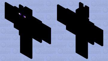 Enderman's pet bat Minecraft Mob Skin