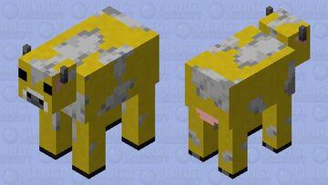 Moobloom Minecraft Mob Skin