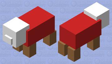 Pig bed Minecraft Mob Skin