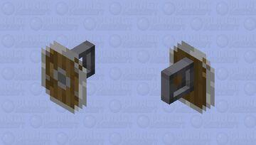Round Buckler Minecraft Mob Skin