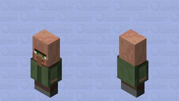 Villager Minecraft Mob Skin