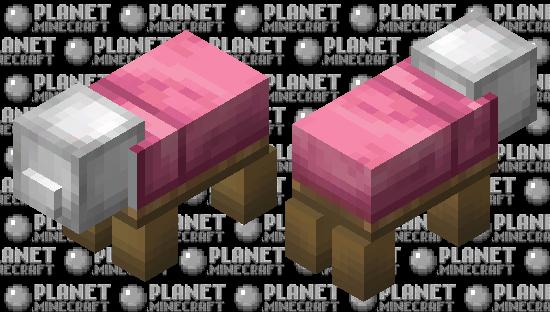Bed Pig Minecraft Skin
