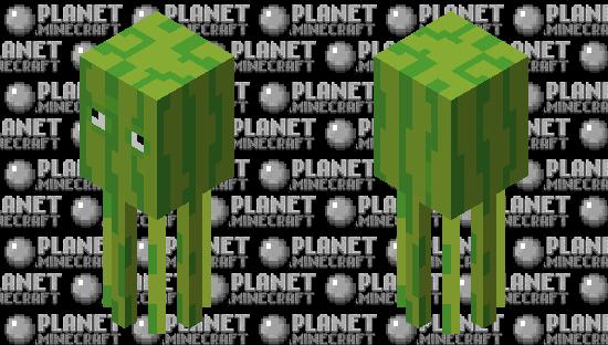 Melon Squid Minecraft Skin