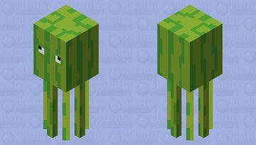 Melon Squid Minecraft Mob Skin