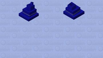 spyro blue wizard's hat Minecraft Mob Skin