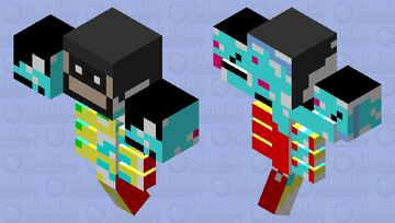 Crazy Wither Minecraft Mob Skin