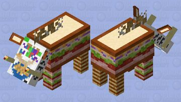 Food Beast Minecraft Mob Skin