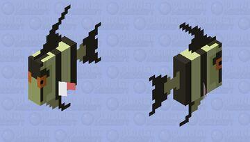 Angelfish (More Fish) Minecraft Mob Skin