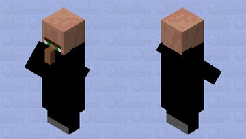Ninja Villager Minecraft Mob Skin