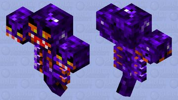 Cerberus - The Three-Headed Hellhound Minecraft Mob Skin