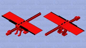 red dragon Minecraft Mob Skin