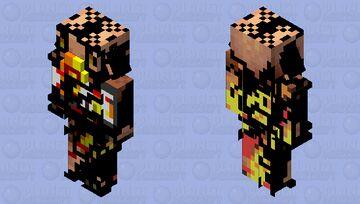 Fire Piglin Minecraft Mob Skin