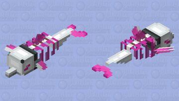Plasma Dolphin Minecraft Mob Skin