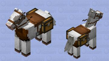 Minnie - Skewbald horse skin Minecraft Mob Skin