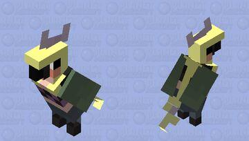 Sinus Gorl as a parrot ? Minecraft Mob Skin
