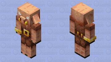 Piglin? aw man Minecraft Mob Skin