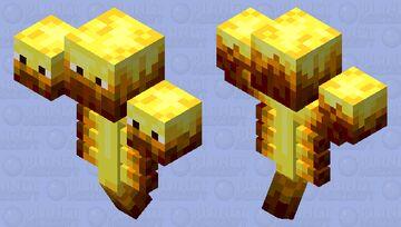 Blaze Lord Minecraft Mob Skin