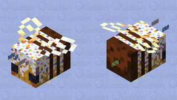 unicorn sprinkle birthday cake bee Minecraft Mob Skin