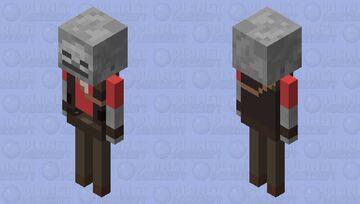 TF2 Sniper Skeleton Minecraft Mob Skin