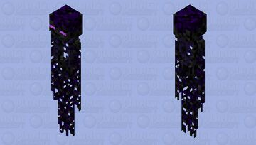 Withering Ender Minecraft Mob Skin