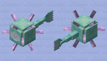 Freshwater Guardian || Mobs of Minecraft Reimagined Minecraft Mob Skin